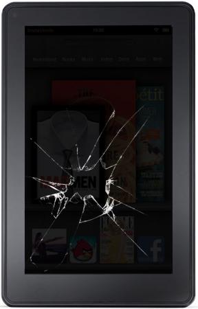 Amazon Kindle Warranty Cracked