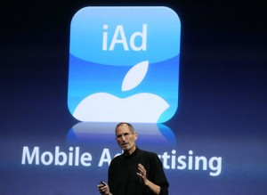 iAd mobile advertising